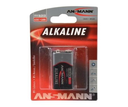 9V Battery Bloc Alkaline