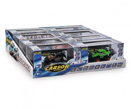 carson Nano Racer 8er Display 2-assort.