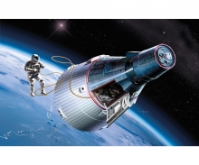 carson 1:72 Gemini Spacecraft w/Skywalker