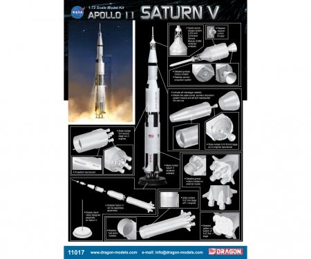 carson 1:72 Apollo 11 Saturn V
