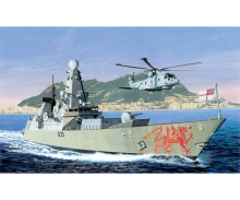 carson 1:700 H.M.S. DRAGON Type 45 Destroyer B2