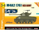 1:35 M4A2 (76) Red Army+Maxim MachineGun
