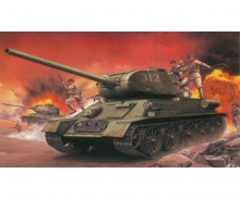 carson 1:35 Chinese Volunteer T-34/85 + Ch.Vol.