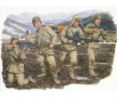 1:35 Chinese Volunteer T-34/85 + Ch.Vol.
