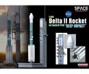 carson 1:400 DELTA II Rocket w/LaunchPad,ready