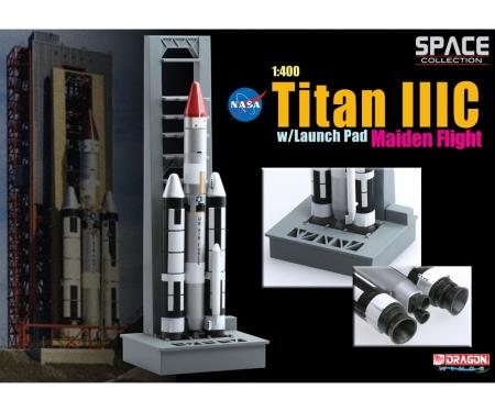 carson 1:400 TITAN IIIC w/LaunchPad Maiden,ready