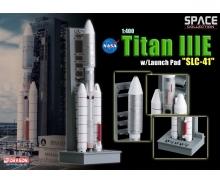 """carson 1:400 Titan IIIE w/Launch Pad """"SLC-41"""""""