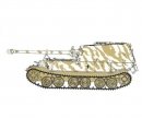 Sd.Kfz.184 Elefant s.Pz.Jg.Abt.614 Polan