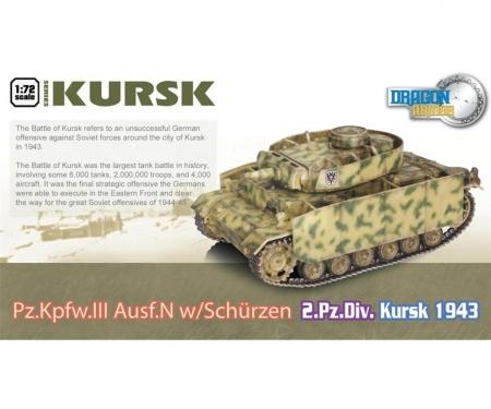 1:72 Pz.Kpfw.III Ausf.N w/Schurzen