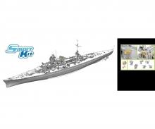 1:350 German Battleship Scharnhorst 1940