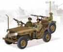 1:35 IDF 1/4-Ton 4x4 Truck w/MG34