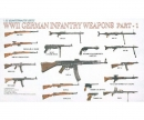 1:35 WWII German Infantry Weapons part 1