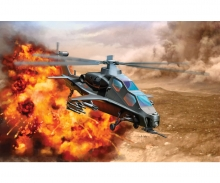 carson 1:144 PLA WZ-10 Attack Helicopter