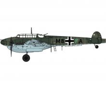 """1:48 Bf110-D1/R1 """"Dackelbauch"""""""