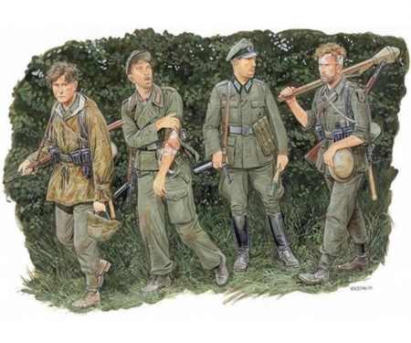 carson 1:35 German Infantry (Hedgerows 1944)