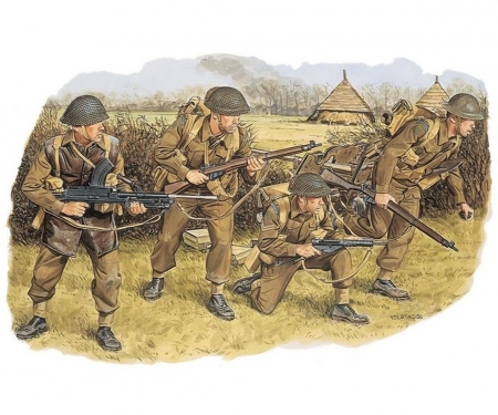 1:35 Brit.Commonw.Troops NW EUROPE 1944