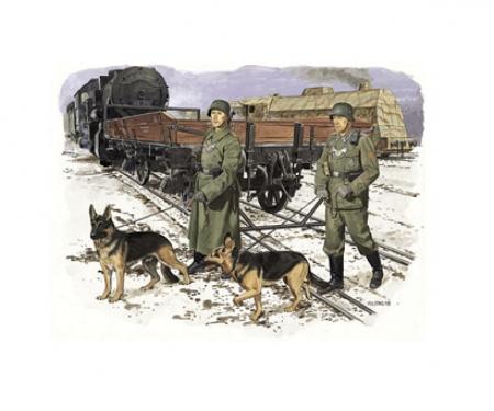 carson 1:35 German Feldgendarmerie w/dogs