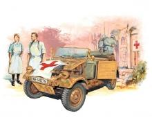 1:35 Kübelwagen Ambul.w/Ger.Medical Team