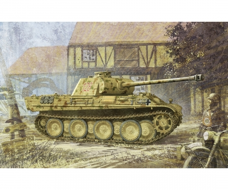 1:35 Sd.Kfz.171 Panther G w/Zimmerit