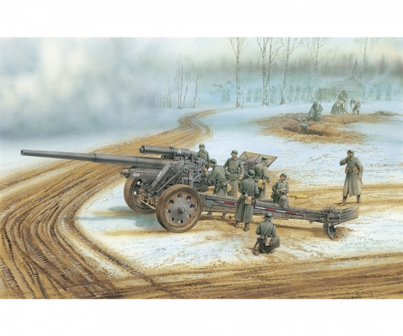 1:35 German s.10cm Kanone 18 (Smart Kit)