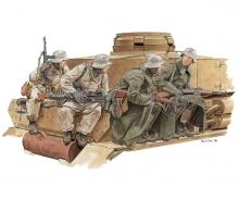 1:35 Winter Tank Riders 1943-44