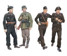 carson 1:35 Ghost Division Tanc Crew Blitzkrieg