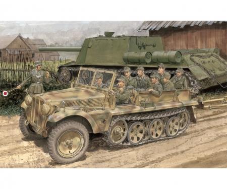 carson 1:35 SD.KFZ. 10 Ausf.B 1942 Production