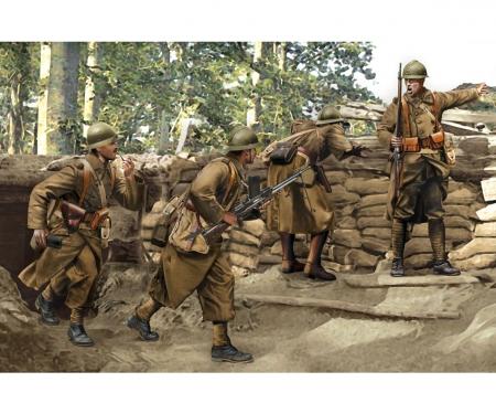 1:35 French Infantry (Sedan 1940)