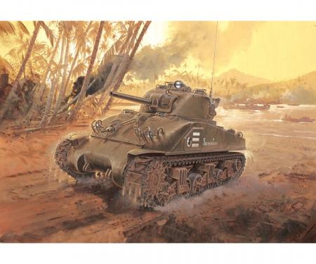 "carson 1:35 M4 Sherman ""Composite Hull"" PTO"