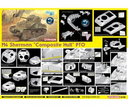 "1:35 M4 Sherman ""Composite Hull"" PTO"