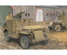 1:35 Armored 1/4TON 4x4 Truck w/Bazooka