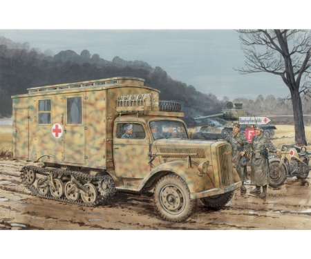 1:35 SD. KFZ. 3 Maultier Ambulance