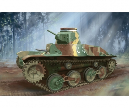 1:35 IJA Type 95 HA-GO Light Tank