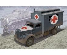 1:35 German Ambulance Truck