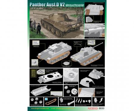 1:35 Panther Ausf.D V2 Versuchsserie