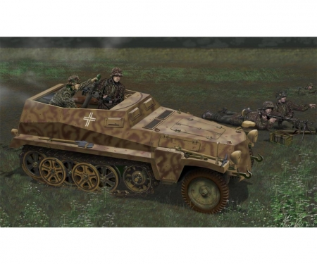 1:35 Sd.Kfz.250/7 Atle 8cm MortarCarrier