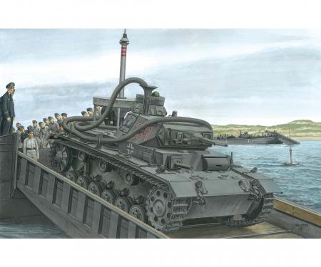 1:35 Pz.Kpfw.III (3.7cm)(T) Ausf.F