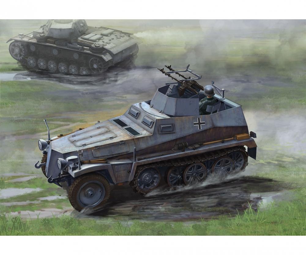 1:35 Sd Kfz 250/4 Ausf A, leichter PzWg - Kits 1:35