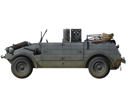 1:35 Kubelwagen Radio Car
