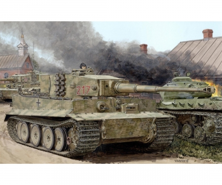 1:35 Tiger I Mid-Production w/Zimmerit