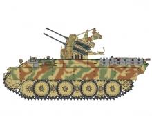 1:35 FLAK PANTHER Ausf.D s.Pz.Jg.Abt.653