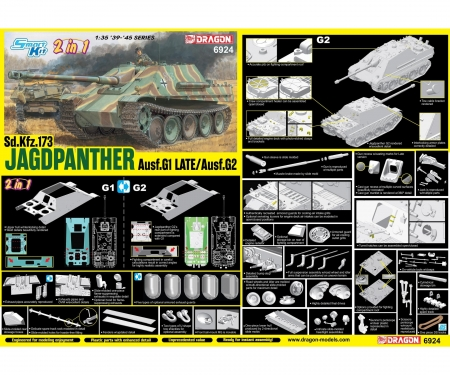 1:35 Jagdpanther Ausf.G1 Late Production
