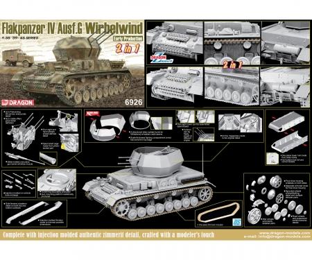 """1:35 Flakpanzer IV Ausf.G """"Wirbelwind""""EP"""