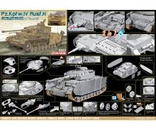 carson 1:35 Pz.Kpfw.IV Ausf.H Late Prod.w/Zimm.