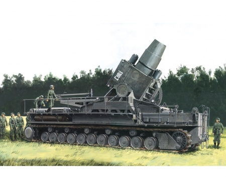 German Super-Heavy Self-Propelled Mortar