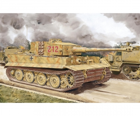 carson 1:35 Tiger I Late Production w/Zimmerit