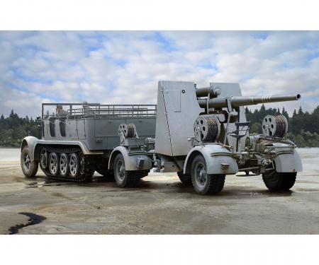 carson 1:35 Sd.Kfz7 8(t)Halftrack+88mmFlaK36/37