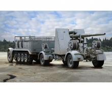 1:35 Sd.Kfz7 8(t)Halftrack+88mmFlaK36/37