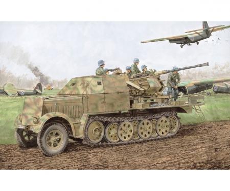 1:35 Sd.Kfz.7/2 3.7cm FlaK 37 & FlaK 36