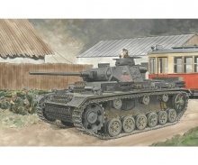 1:35 Pz.Kpfw.III Ausf.J Initial Product.